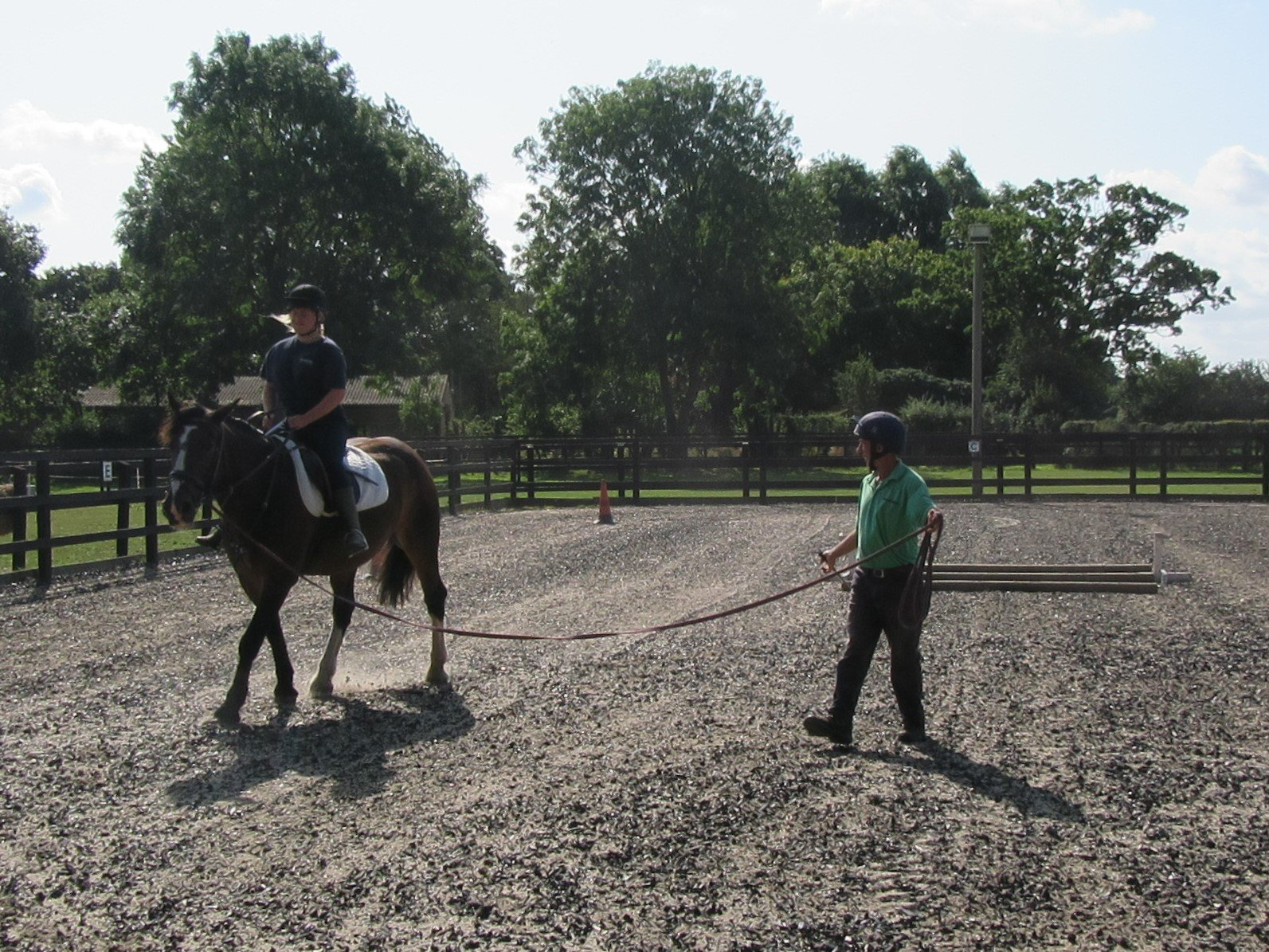 Lunge lesson